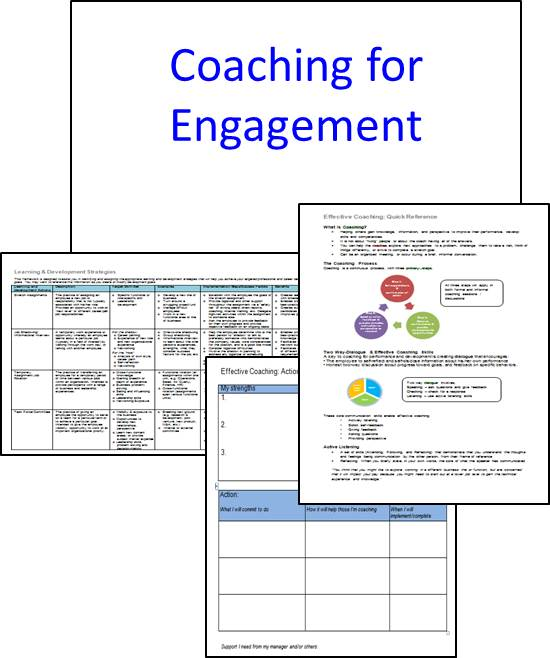 Store Workshop - Coaching for Engagement