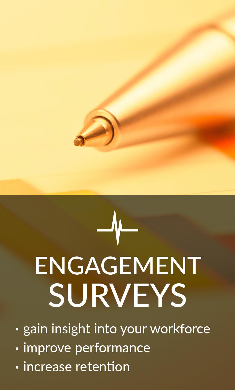 Employee Engagement Surveys & Assessments
