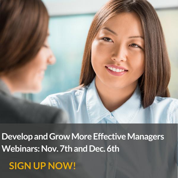 Webinar on managerial training